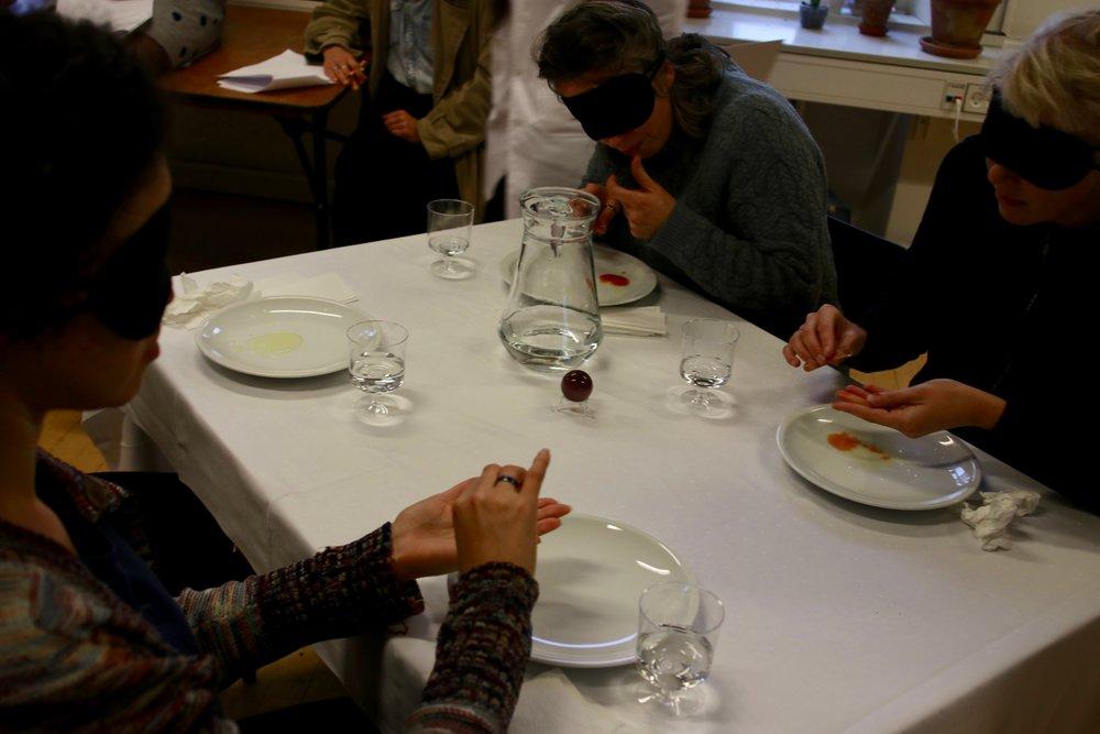 Anna Bolther, Amalie Juelsgaard & Golshid Rokhzan: 'Flow Feelings Fluid Food'