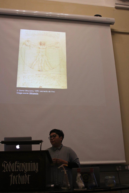 Zeenath Hasan: 'Fontana Mixing Vitruvian Correlations'