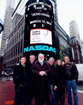 Jim rings the closing bell at NASDAQ