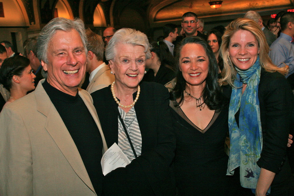 Kurt, Angela Lansbury, Vicki, and Kelli O'Hara