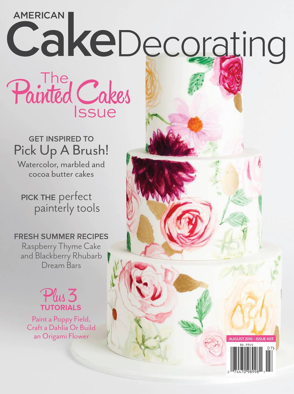 Published In American Cake Decorating Magazine