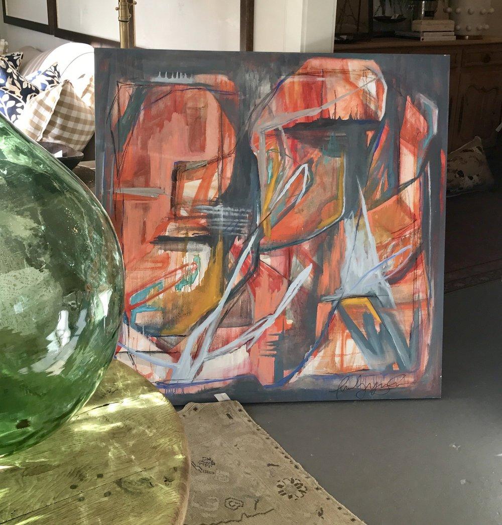 48x48 Oil on Canvas. Available through  Parish Shoppe .