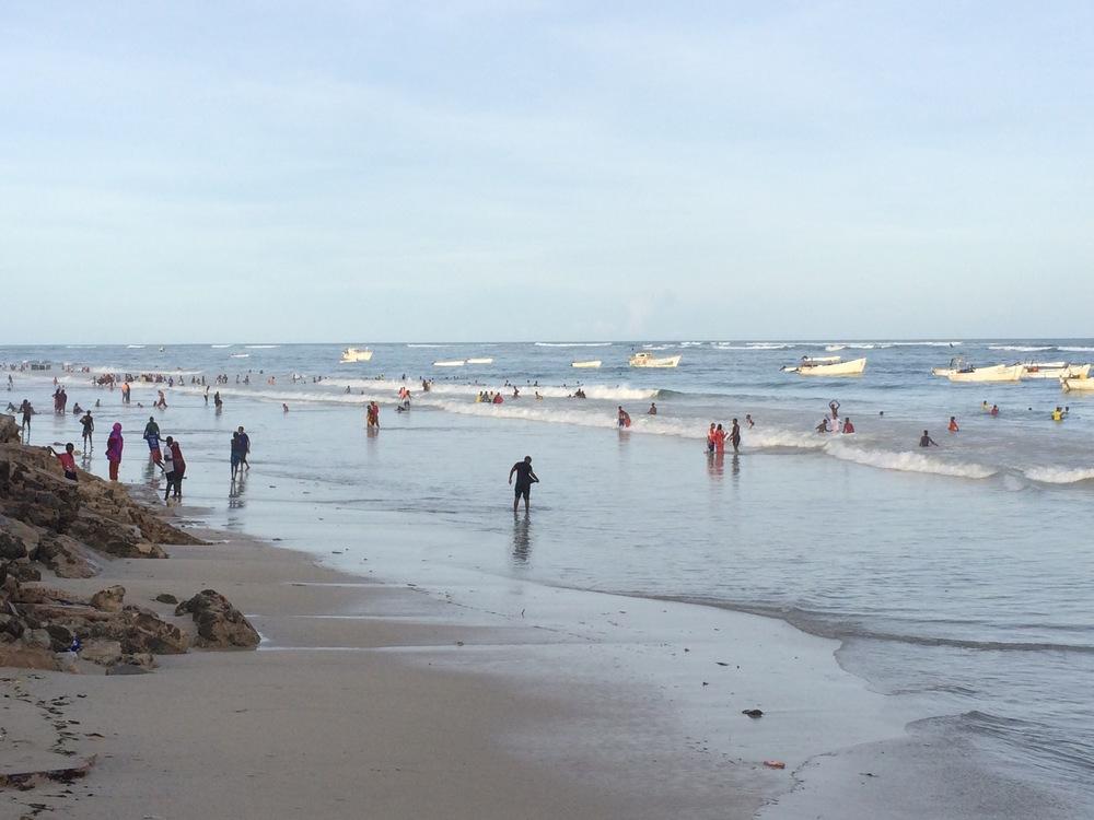 Lido Beach Mogadishu - 2015
