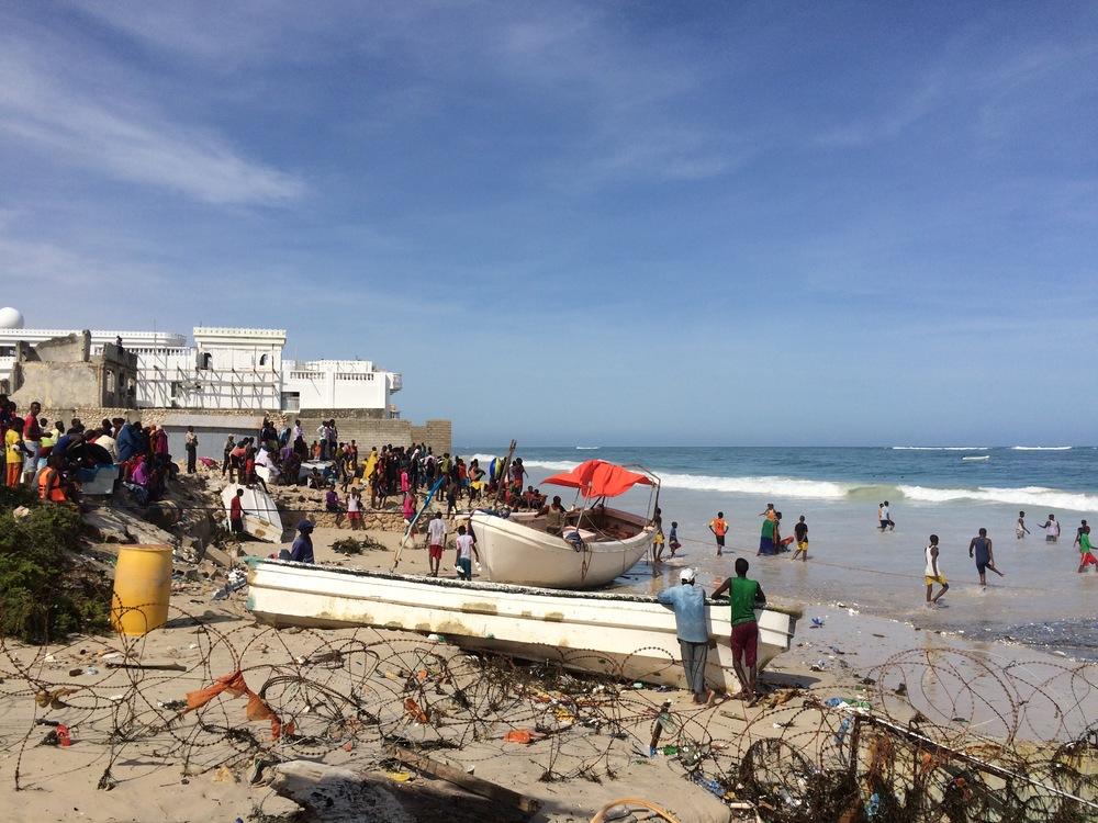 Lido Beach Mogadishu 2015