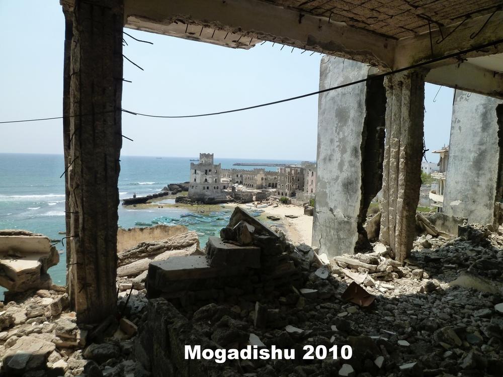 Mogadishu seafront - 2012