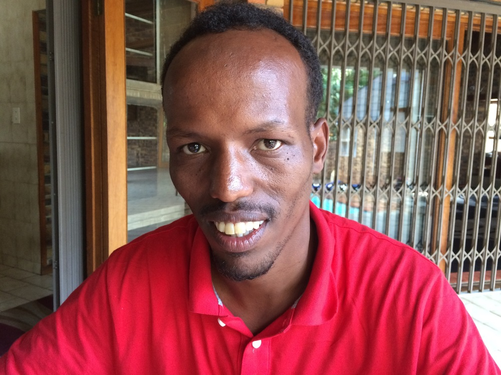 """Bashir """"Qaman"""" in Johannesburg - 2015"""