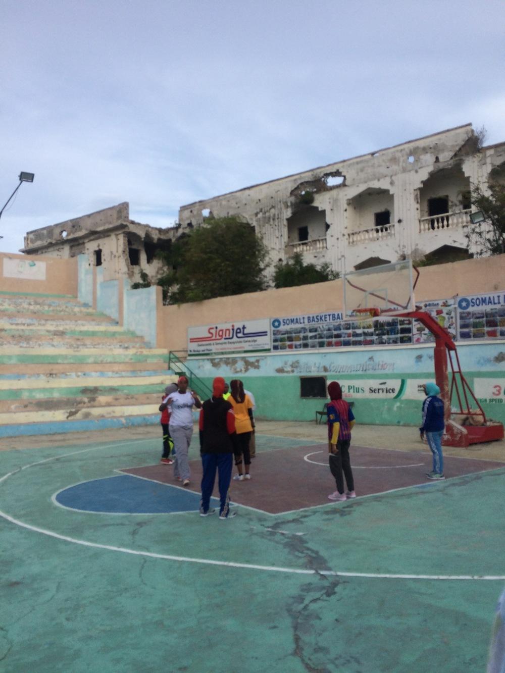 Wiish stadium Mogadishu - 2015
