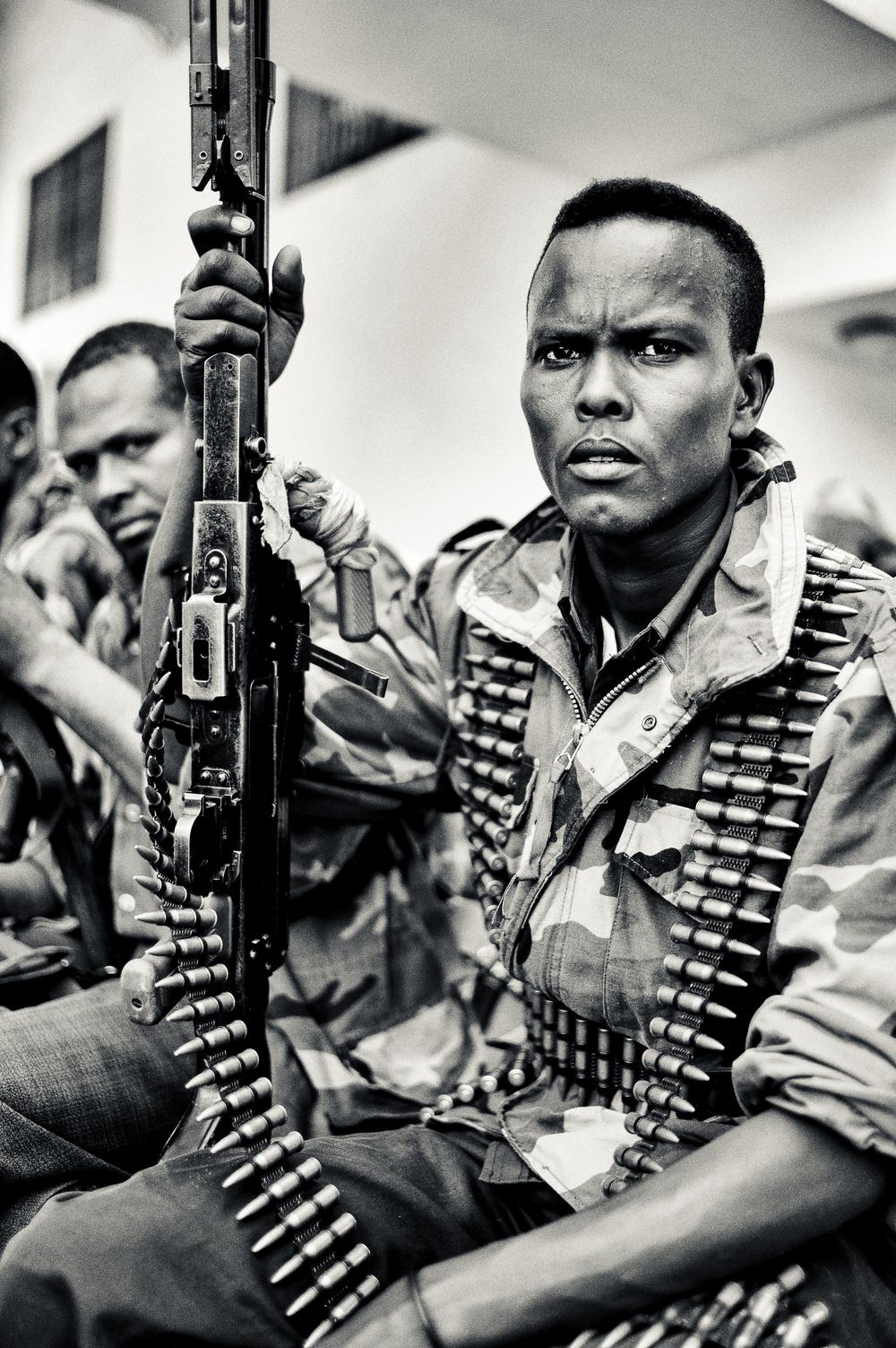 Mogadishu gunmen - 2011