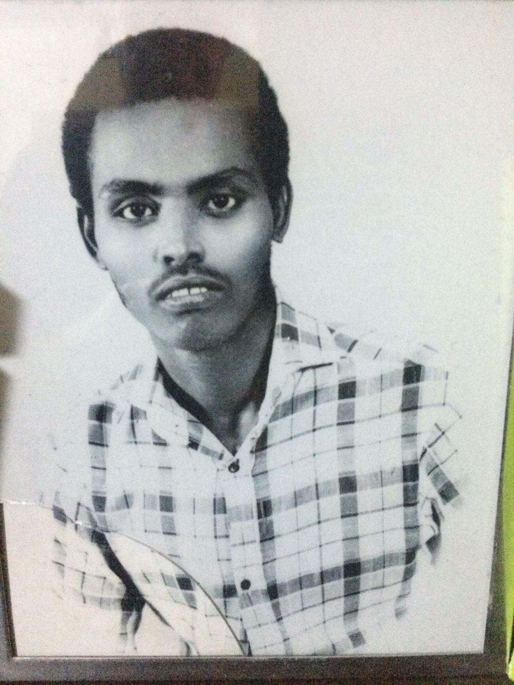 Tarzan in Mogadishu, aged about 20.