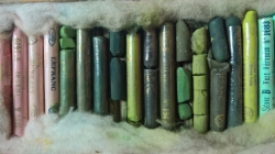 My box of Pastels row by row still in perfectly useable condition.