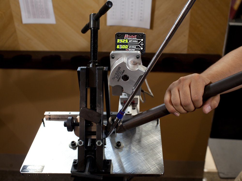 Jeffmont retrofitting matches your clubs to your fit size. Services include adjusting shaft length, club lie angle, and making loft changes to fill distance gaps.
