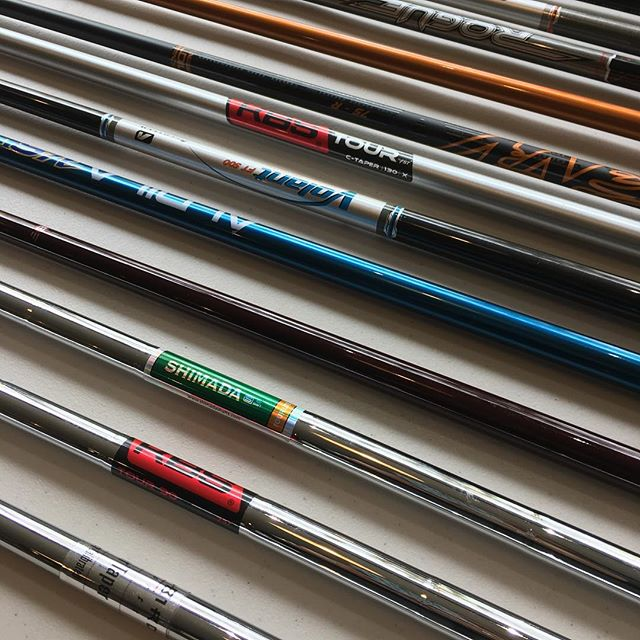 Shafts for days! Call for more info and pricing.