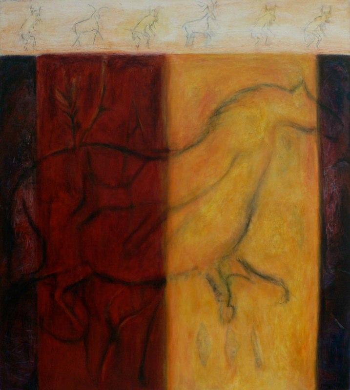 Cave Horse 4 / 72'' x 64''