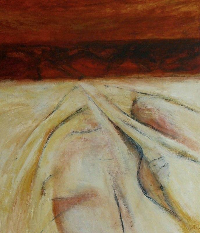 Desert Scape 4 / 42'' x 30''