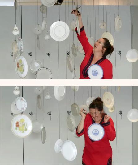 (2015)  Installation  Video stills by Aaron Granat