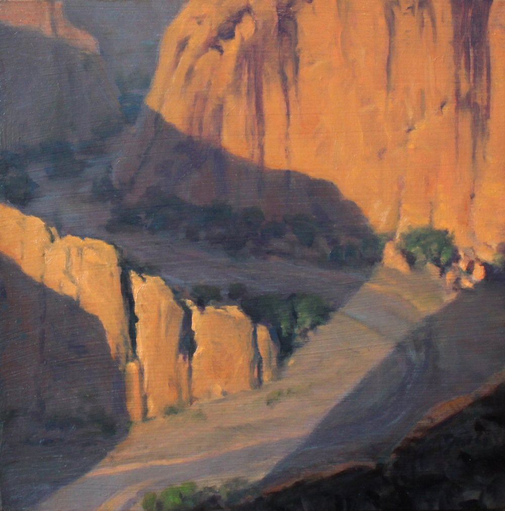 Damien Gonzales, Sunrise at Antelope House Overlook