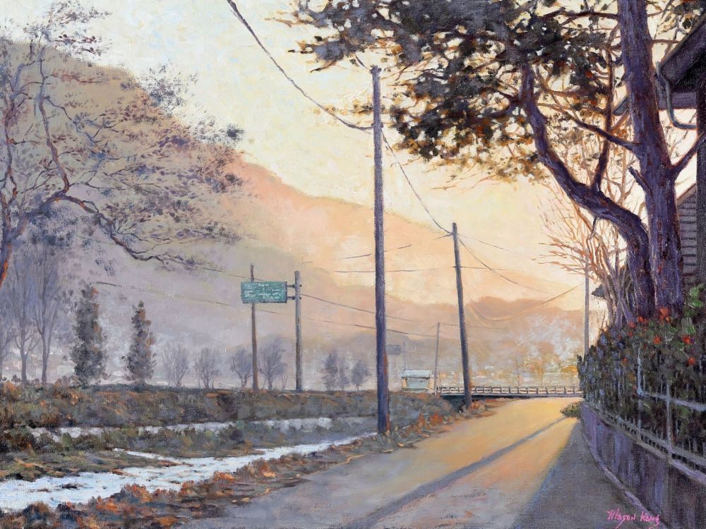 Mason Kang, Morning Light at Namwon