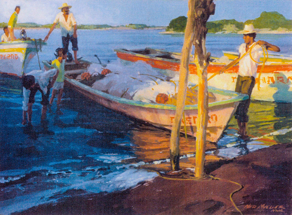 Ned Mueller, Tying Up San Blas