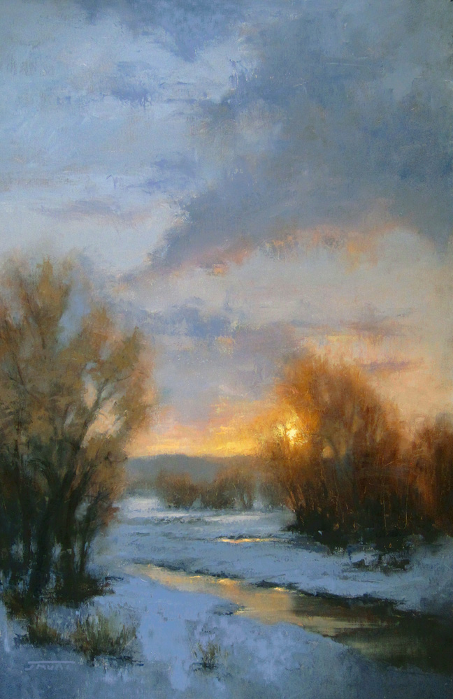 Jane Hunt, Winter Sky