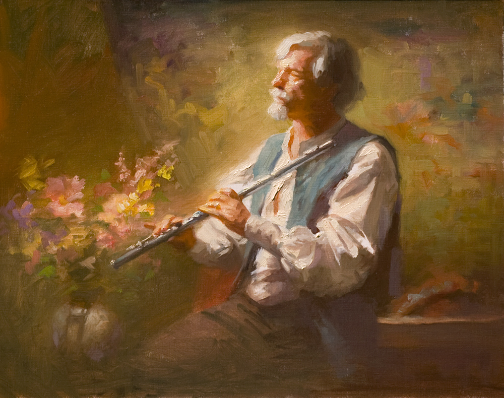 Charles Young Walls, The Flutist