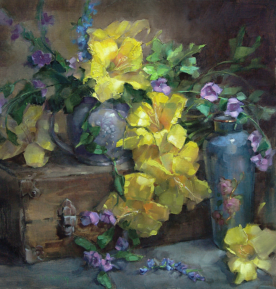 Barbara Schilling, Gallery Representation Finalist, Inner Glow