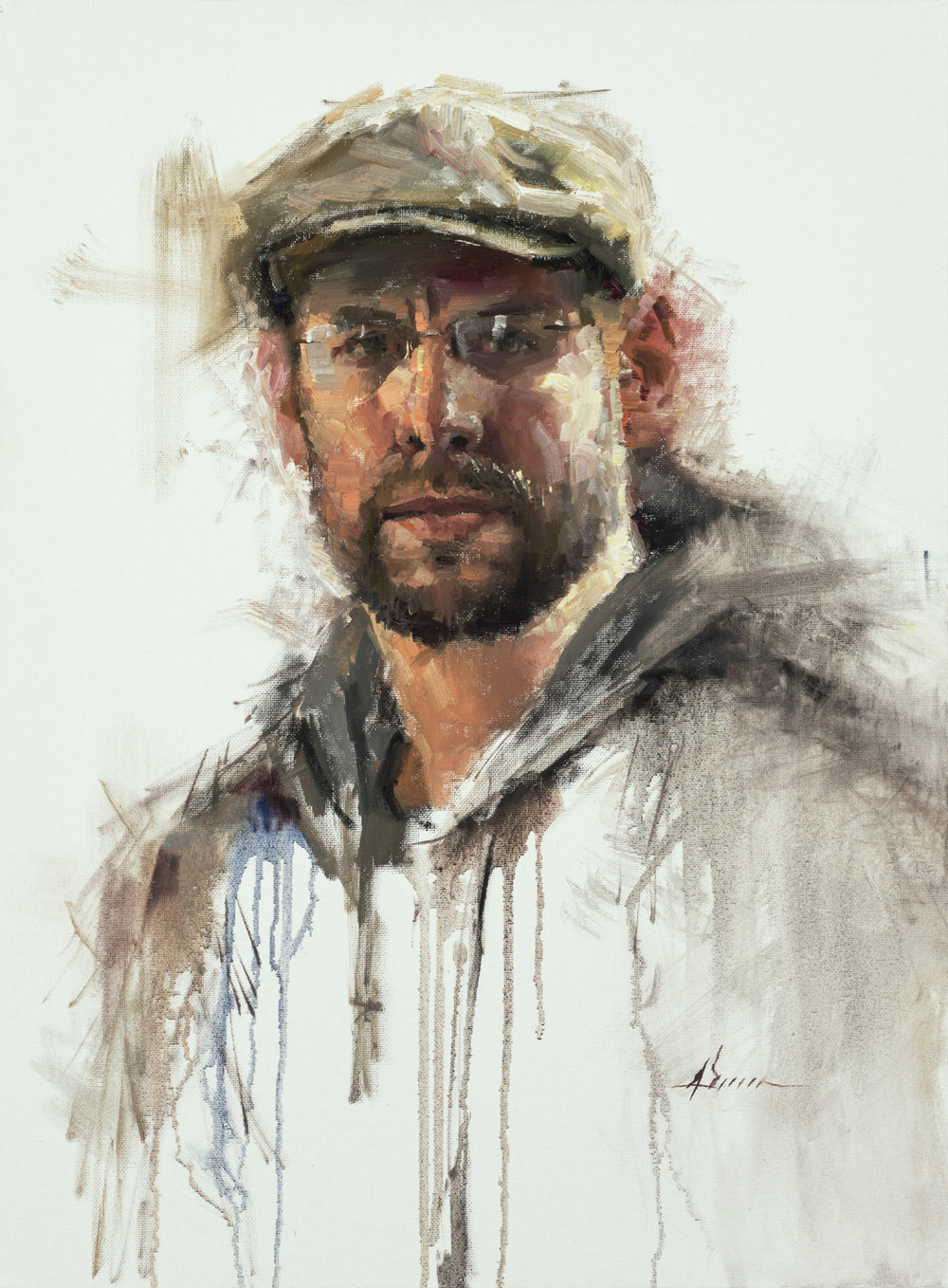 Jason Sacran, Self Portrait