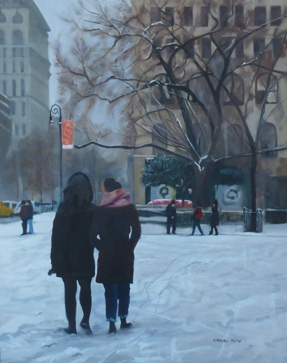 Carol Hein, Budding Artist Winner, Christmas in the City