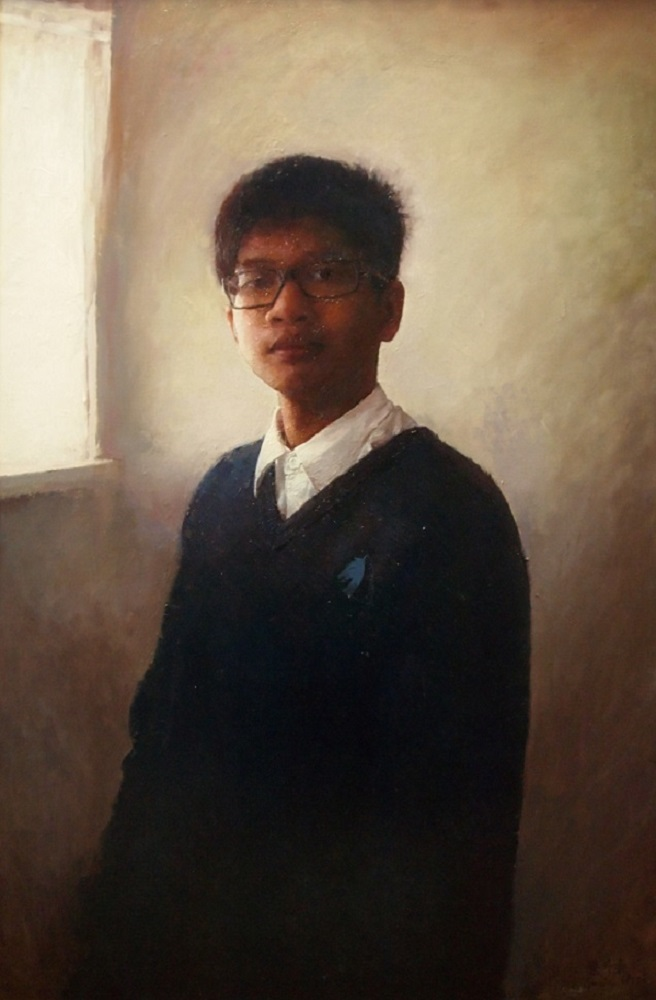 Gavin Chai, Self Portrait in a School Uniform