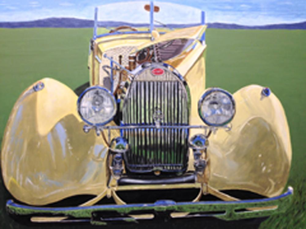 Karen Merkin, Yellow Bugatti