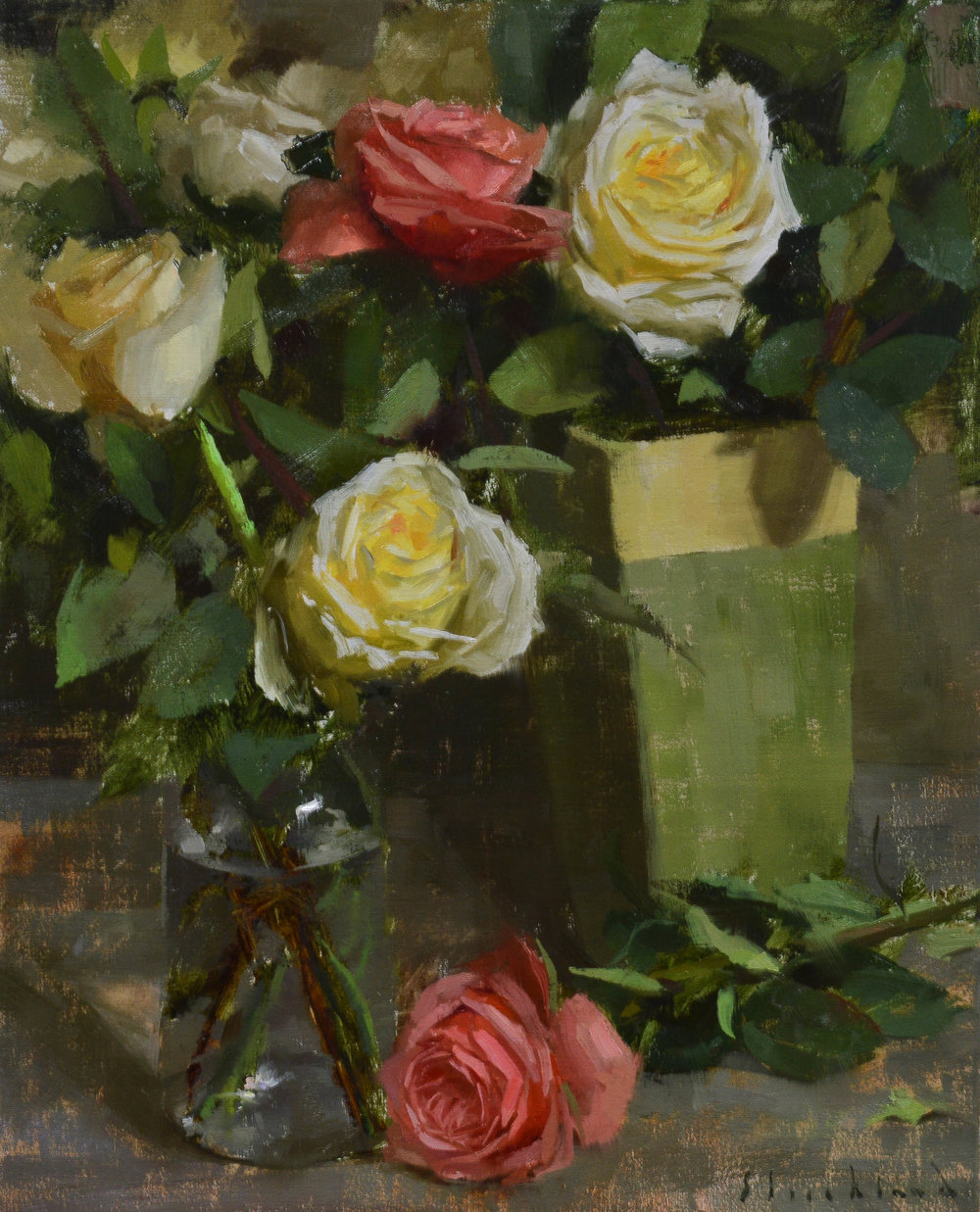 Emerging Winner, Robert Strickland, Garden Roses