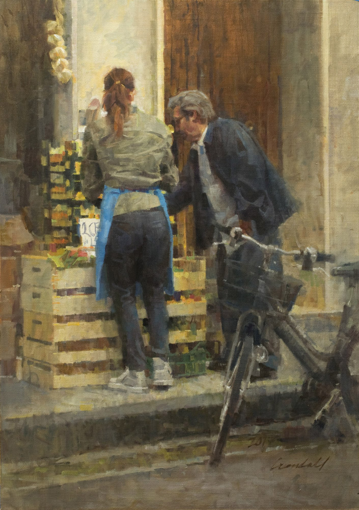 Master Class, James Crandall, The Fruit Vendor