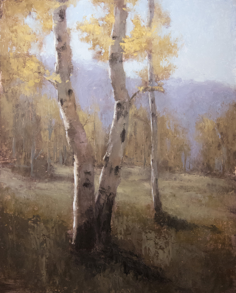 Jane Hunt, Autumn Aspens