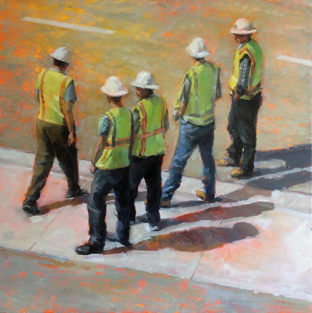 Emerging Artist, Martha Cowan, Workin' Men