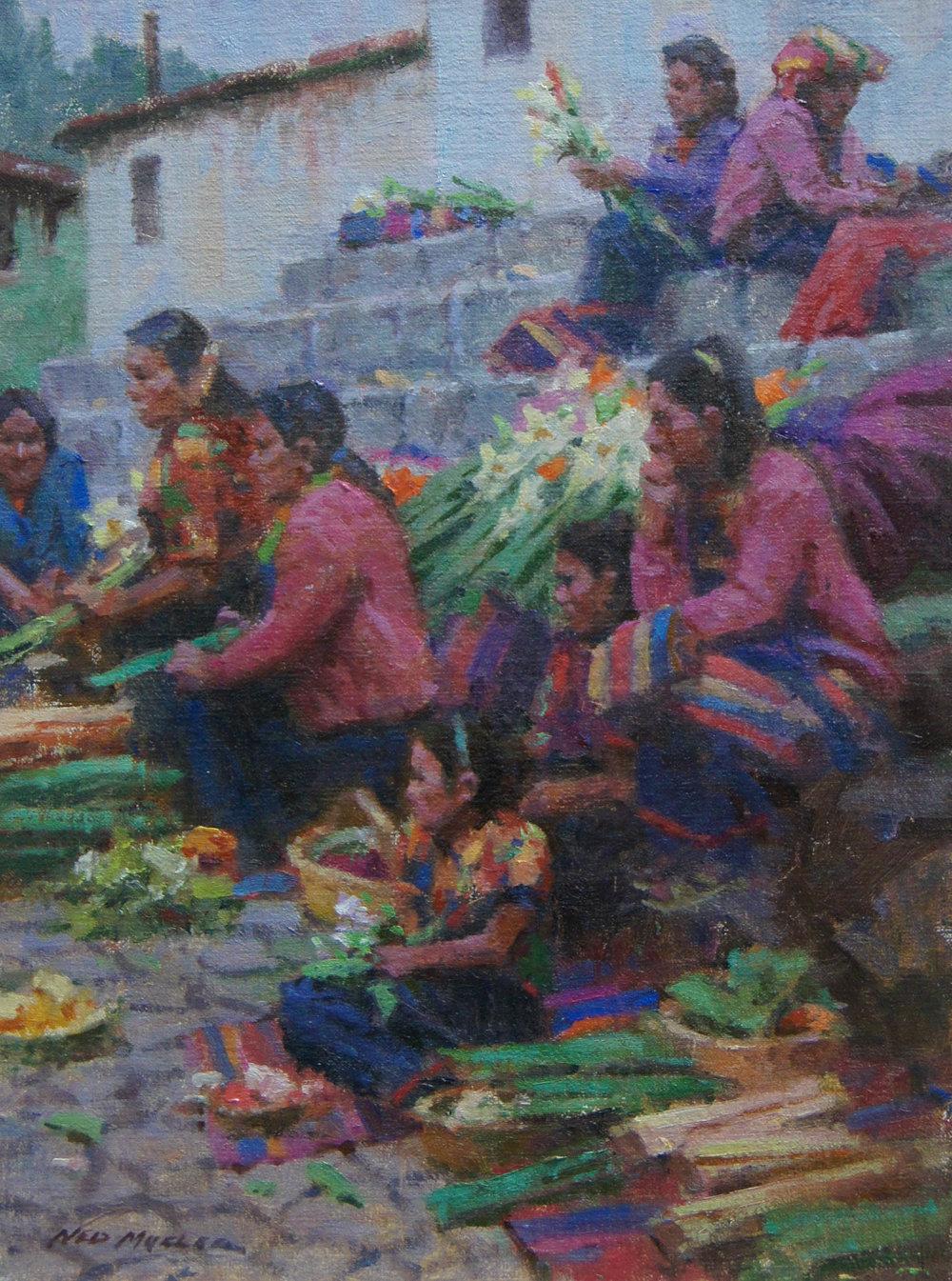 Ned Mueller, Morning Market-Guatemala