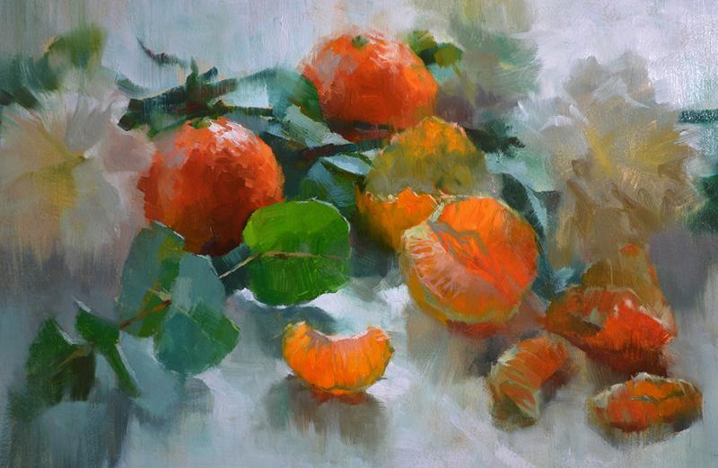 Emerging Artist, Alex Kelly, Mandarins