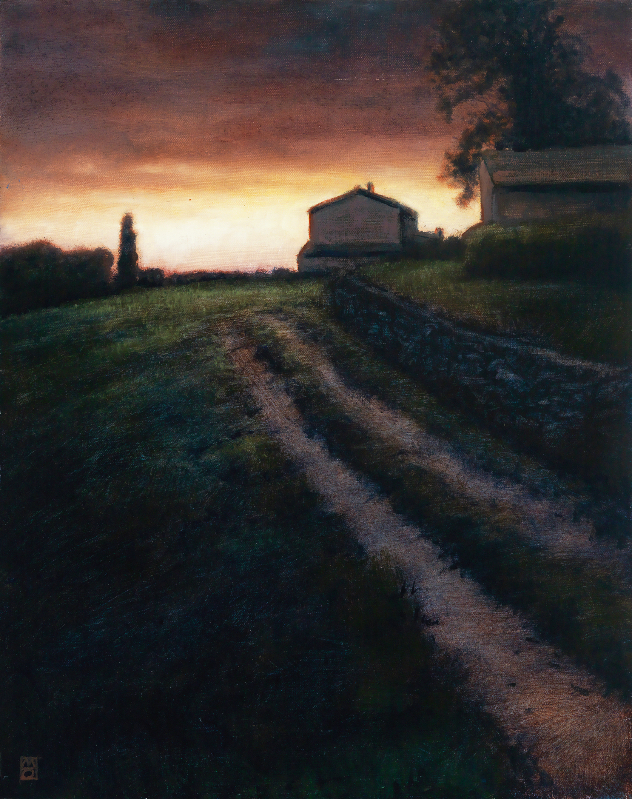 Michael Orwick, Cortona, View of Tuscany