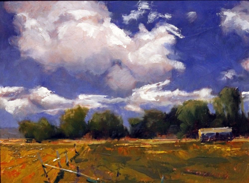 Debra Russell, Spring City Clouds