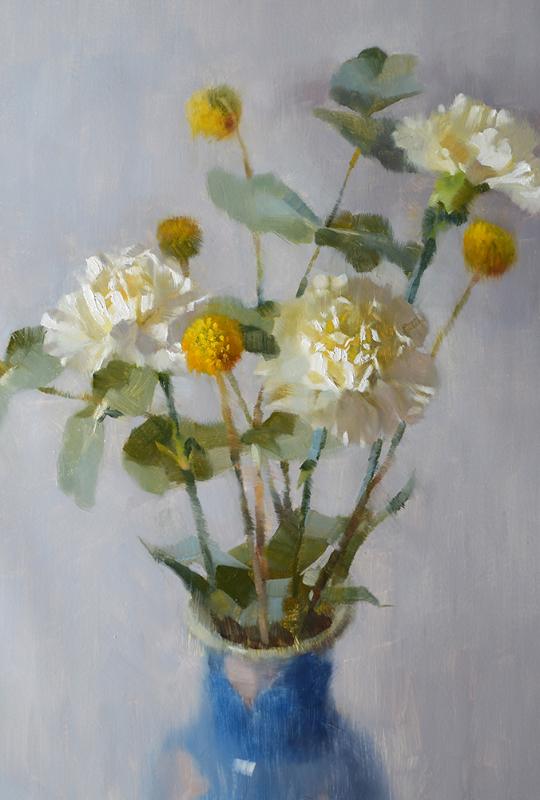 Alex Kelly, Carnations and Eucalyptus