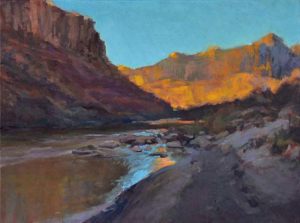Emerging Artist, Stephen Van Handel, Colorado River Moab