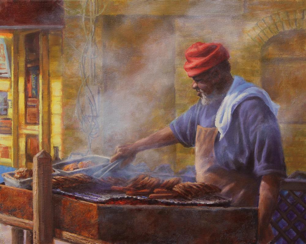 Robert Perrish, Bert's BBQ