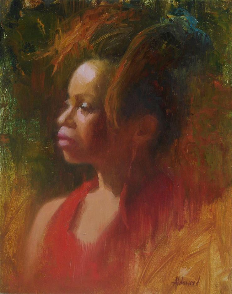Sherri Aldawood, Lady in Red