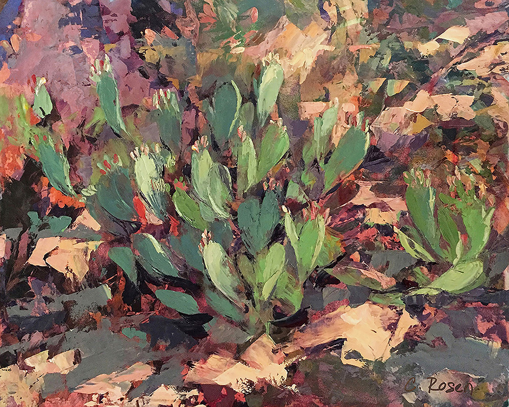 Cynthia Rosen, Early Bloom in the Desert