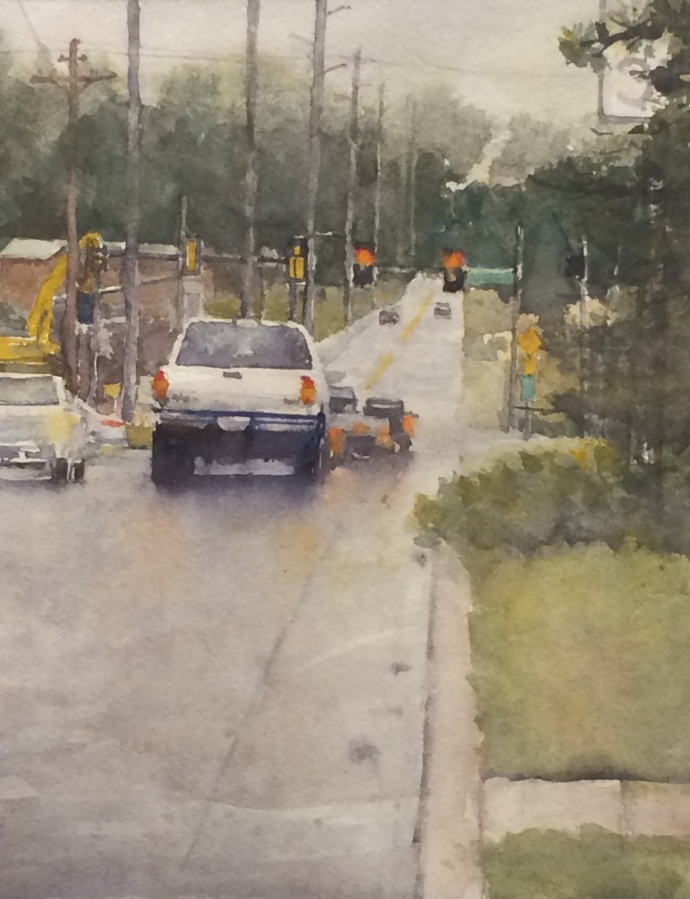 Jeff Williams, A Rainy Friday on McElroy