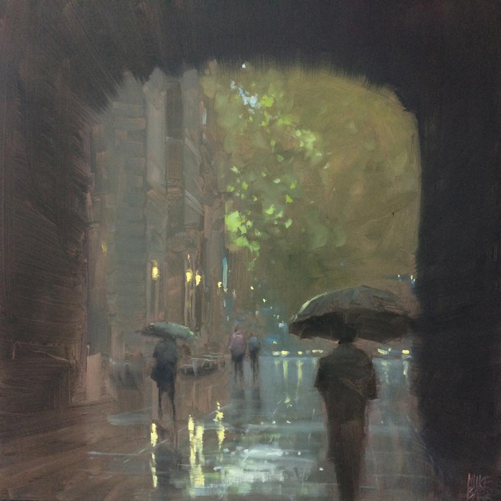 Master Class, Mike Barr, Town Hall Rain