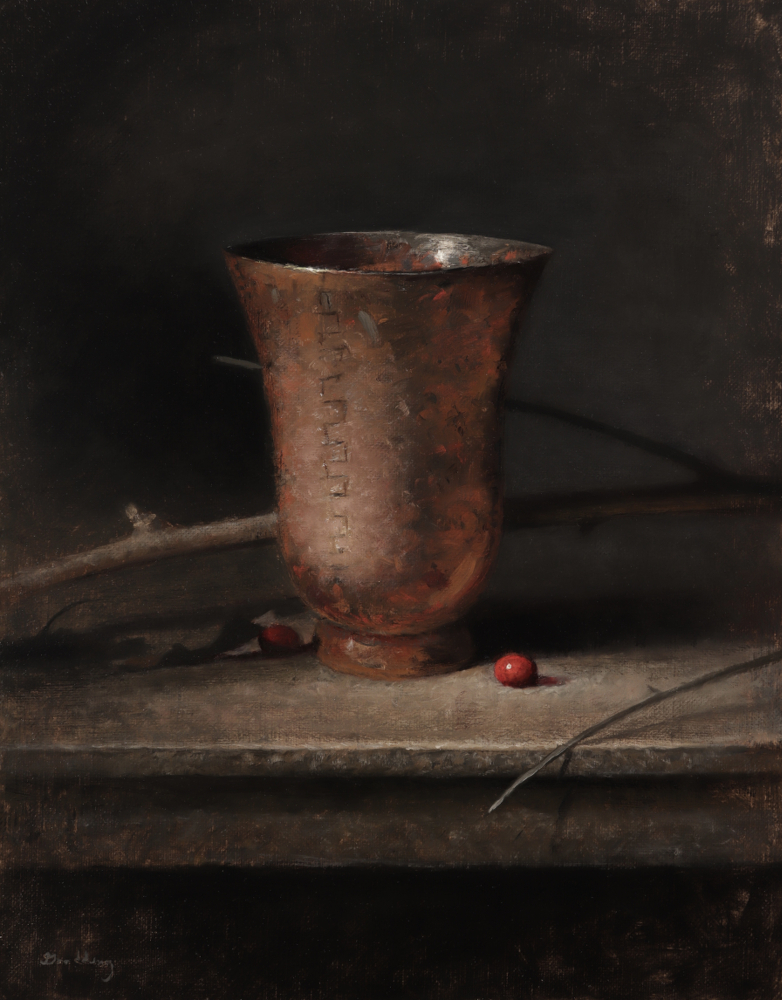 Emerging, Jeremy Goodding, Copper and Cranberries