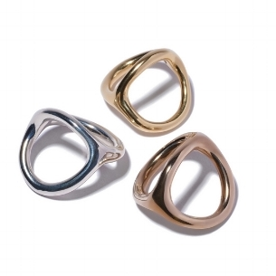 Jane D'Arensbourg Metal Rings