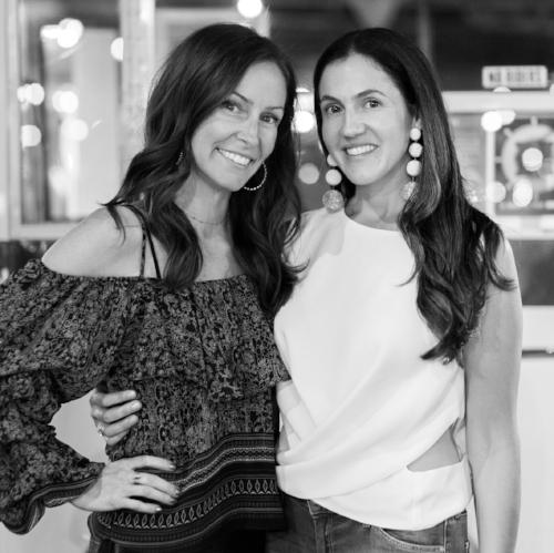 DINA  LITT  & JANIE  SCHWARTZ    Featured 3.6-3.12 Life-Long Friends, Lovers of Shopping + Brilliant Business Partners