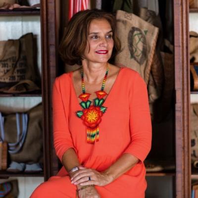 ARIANE  DUTZI    Featured 5.15-5.21.17 Handbag Designer, Amateur Chef + Unofficial Queen of the Yucatan