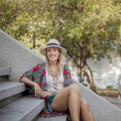 KRISTY  ELLIS     Featured 8.7-8.13.17 World Traveler, Tour Guide Extraordinaire + Amateur Salsa Dancer