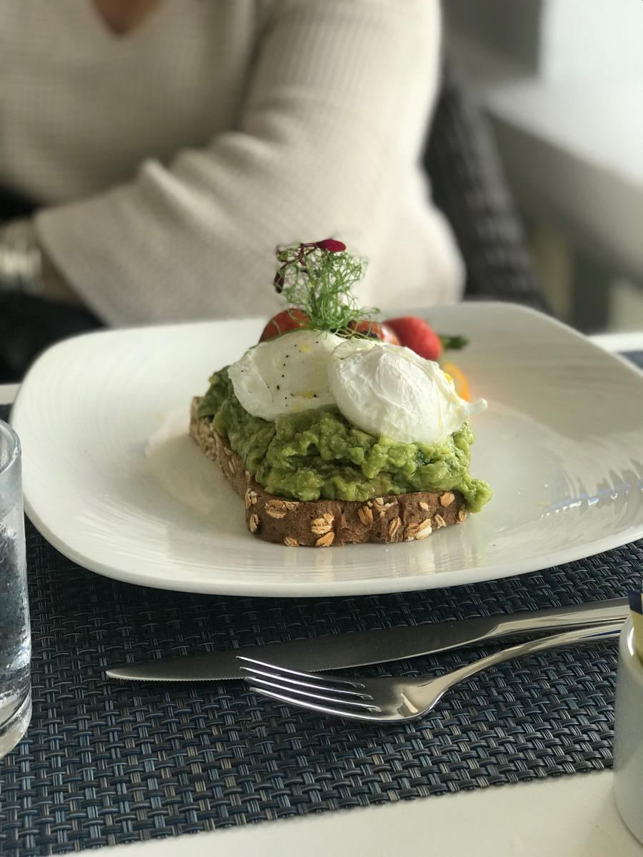 Avocado Toast at Huckleberry